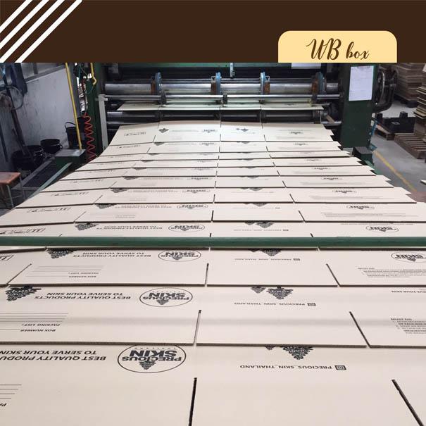โรงงานผลิตกล่องกระดาษ